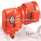 China Manufacturer K Series Helical-Bevel Gear Box
