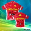 custom sublimated cycling jersey wear with top quality