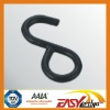 S HOOK WITH plastic coating