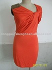 USA new Fashion OEM dress maker 2012 polyester supplier