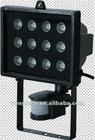 12w IP44 CE 220v led sensor light