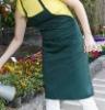 Spun polyester plain apron
