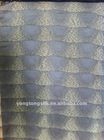 wave shaped 100% cotton jacquard upholstery fabric
