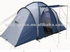 two room safari fiberglass pole camping tent