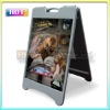 outdoor double sides plastic poster board