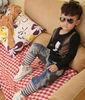 2013 New Design brand name Jeans for kids