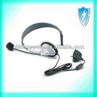 New single headphone earphone with microphone headset for xbox 360 headset