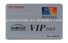 PVC Printed card/Slivercard