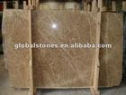 Natural polished light emperador marble