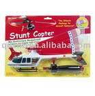 Stunt Copter with safe rubber tips