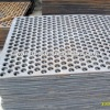 round hole perforated metal panels