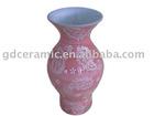 Decorative Pink Ceramic Vase