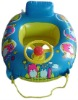 baby inflatable swimming car with steering wheel