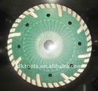 350mm Small Green Turbo Diamond Saw Blade for Concrete Cutting