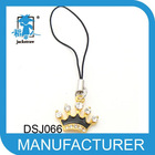 royal gold crown mobile phone accessories chain wholesale