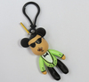 hot plastic movie character key chain gangnam style