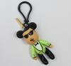 hot plastic movie character key chain gangnam style
