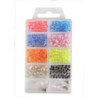 2012 style cheap DIY glass beads kits for jewelry sets