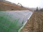 Good flexibility geotextile material
