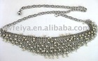 fashion alloy chain belt