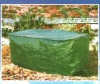 BBQ cover, dark green bbq cover, custom bbq cover