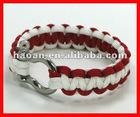 2012 latest wholesale paracord bracelet shackle wpb-0018