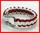 2012 latest wholesale paracord bracelet shackle wpb-0018