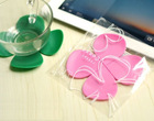 Elegant creative 3D silicone coffee mat for promotion
