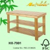2012 new style 3 Tier Bamboo Shoes Shelf