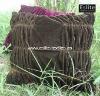 100% Polyester Pleated Velvet Cushion