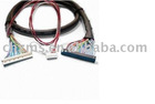 LVDS cable(cable used in LVDS LCD panel,cable use to LCD Monitor)