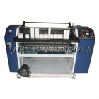 Automatic cash register paper roll slitting rewinder