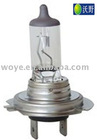 H7 Car headlight halogen bulbs with high quality