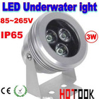 3 x 1W 3W IP65 LED Waterproof Underwater FloodLight