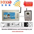 wireless video door phone/video intercom system Video 7 Inch Intercom/video Door Phone System for Apartment