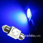 Car LED Light Bulb 31mm 1SMD 1W Blue Festoon Interior(FD-LED-31-1W-B)