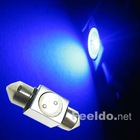 Car LED Light Bulb 31mm 1SMD 1W Blue Festoon Interior(FD-LED-31-1W-B)