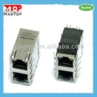 10/100Base-TX Multi Port (2x1) RJ45 Connector W/Transformer W/O LED