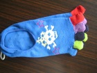 Colorful ladies five toe socks