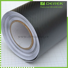 3D carbon fiber vinyl sticker, car body decorative film vinyl, 1.52m*30m