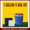 EXTRACTOR herbal 1 GALLON 4 BAG KIT Bubble hash bag