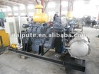 Deutz series biogas generator set ( 120kw with chp system,stainless steel boiler)