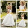 Hot sale A-Line Custom Made Communion Dresses For Girls
