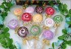 lollipop cake towel (CT-002) 100%cotton Terry loop towel
