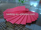 disposable color printed paper napkin,table napkin,heart-shaped design color napkin 33x33cm,2ply
