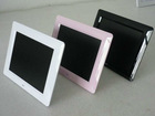 "8"" 8 Inch Digital picture frame color lcd screen slideshow rechargeable"