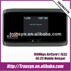 New Original 100Mbps AirCard 763S 4G LTE Mobile Hotspot,LTE Portable 4G Wireless Router