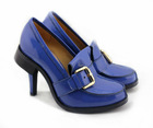 Fashion lady popular blue high heels.sexy pumps hot sale