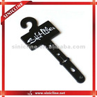 Plastic hook for belt