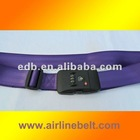 Top new fashion luggage/baggage straps/belt, SEATBELT Style with TSA password lock